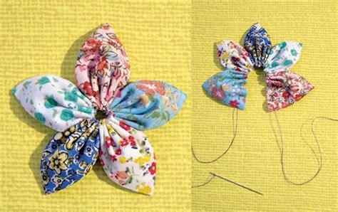 fiori di stoffa come fare come fare fiori di stoffa fai da te