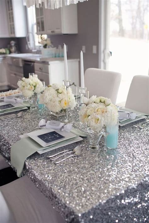 bridal shower table settings 43 trendy glam bridal shower ideas weddingomania