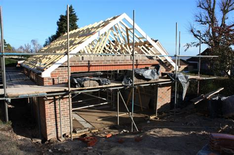 Garage Roof Construction Garage Roof Struts Solent Roofing And Building