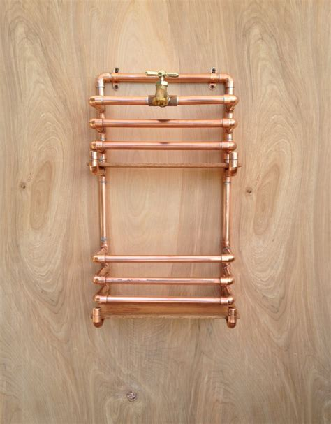 Where To Buy Kitchen Faucet by Copper Magazine Rack Wall Storage Rack Industrial By