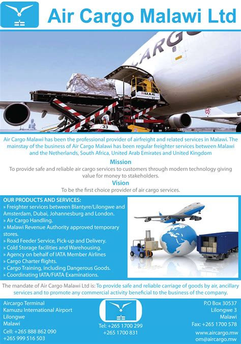 air cargo ltd proadz business directory