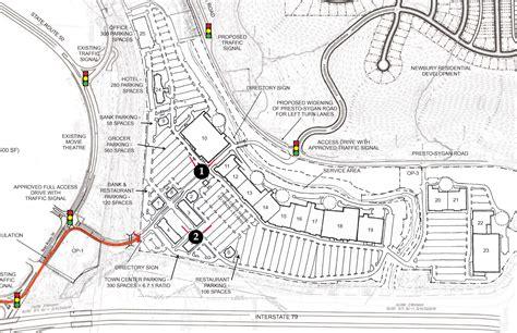 construction site plan newbury marketconstruction update