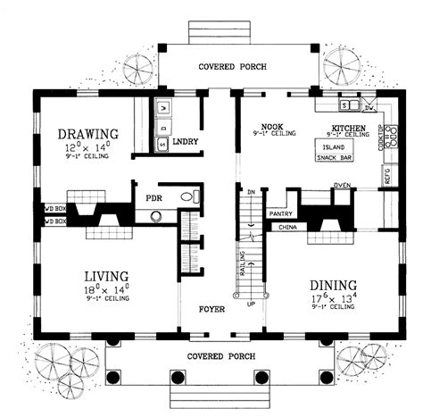 Old Southern Plantation House Plans by Floor Plans Aflfpw09906 2 Story Greek Revival Home With