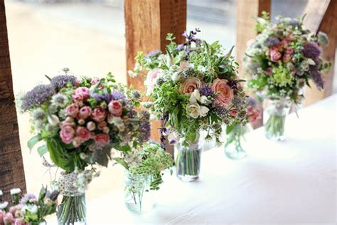 country garden wedding flowers and relaxed country tea wedding at south