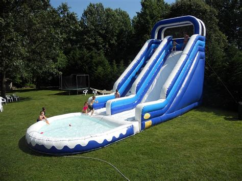 backyard water slides for adults triyae backyard water slide various design