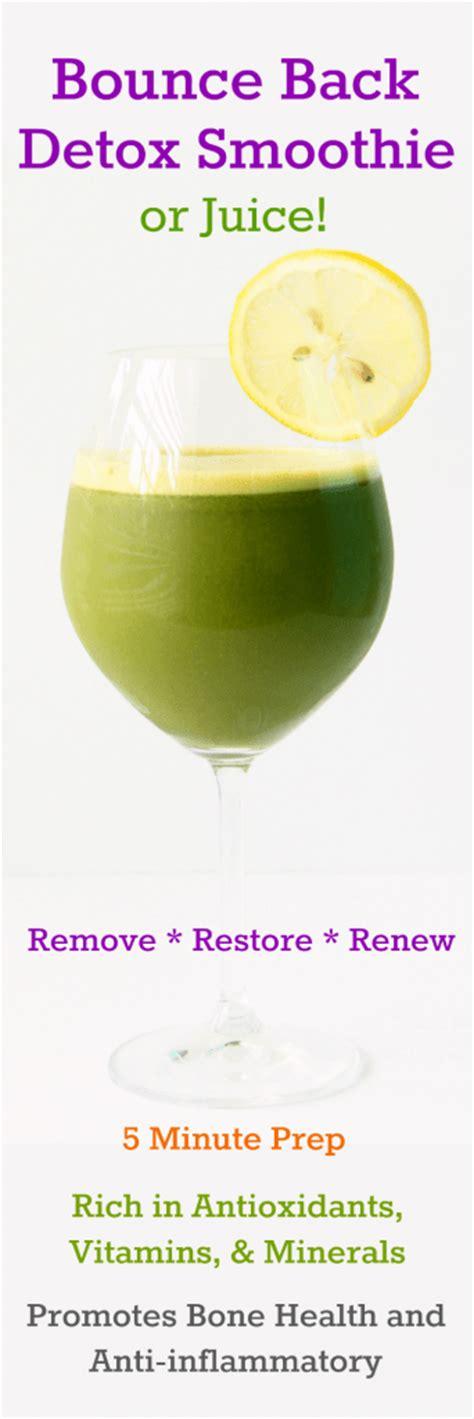 Gluten Detox Time by Bounce Back Detox Juice Gluten Free Plant Based