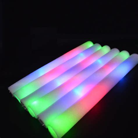 light up foam wands 16 inch led foam sticks light up wand