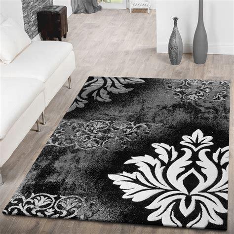 teppich blumen moderner teppich wohnzimmer kurzflor teppich blumen muster