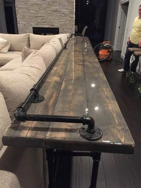 25 Best Ideas About Behind Couch On Pinterest Table