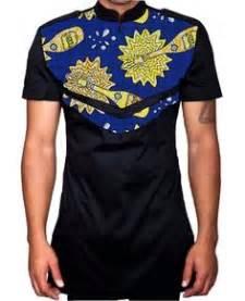 bjk 064 baju koko pria slim fit baju batik kombinasi elegan 236 shirts africans