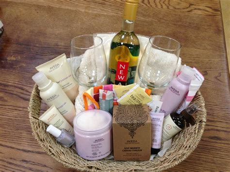 Raf E Baskets Spa Night And Aveda Products On Pinterest