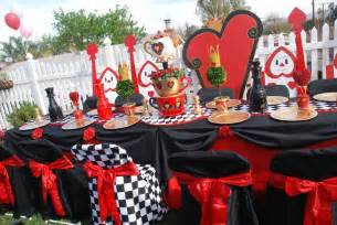 Decorating Valentine Boxes Queen Of Hearts Alice In Wonderland Birthday Party Ideas