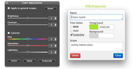 tmtheme editor herokuapp tmtheme editor a color scheme editor for sublimetext and