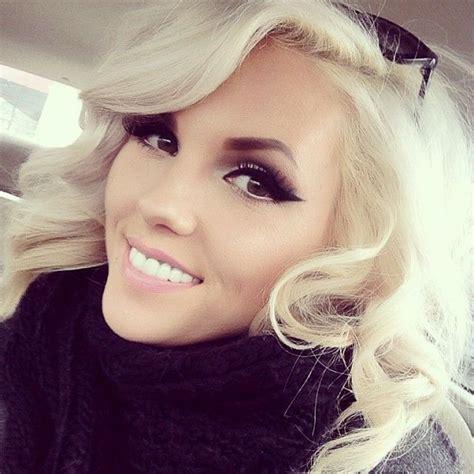 brown eyed girl  blonde hair images