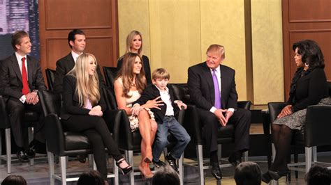 Trump Family Photos by A T V First Donald Trump And His Five Children Video