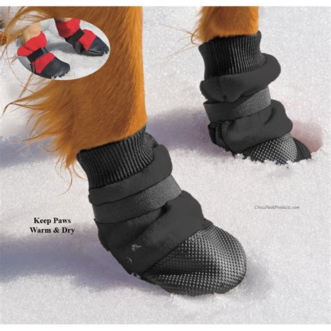 puppy boot c muttluks fleece lined winter boots for hiking walking running cross peak products