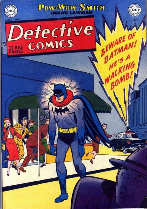 batman detective comics detective comics 163 batman superman vintage