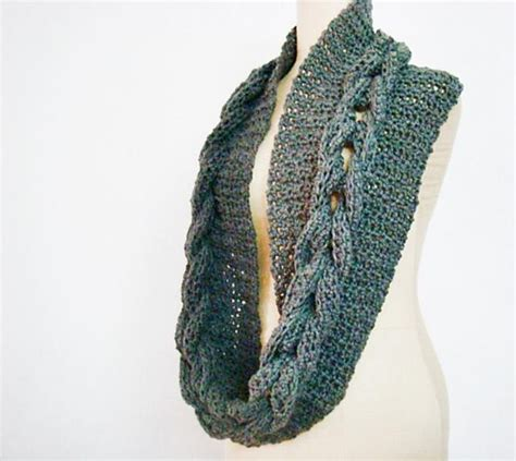 infinity scarf pattern knit youtube crochet cabled infinity loop scarf cowl crochet pattern by