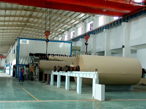 Paper Corrugated Box Machinery - high strength corrugated paper machine 001 china