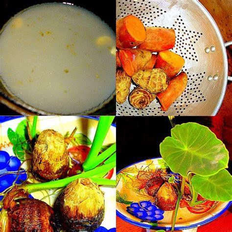 resep masakan indoaus talas dan ubi rebus