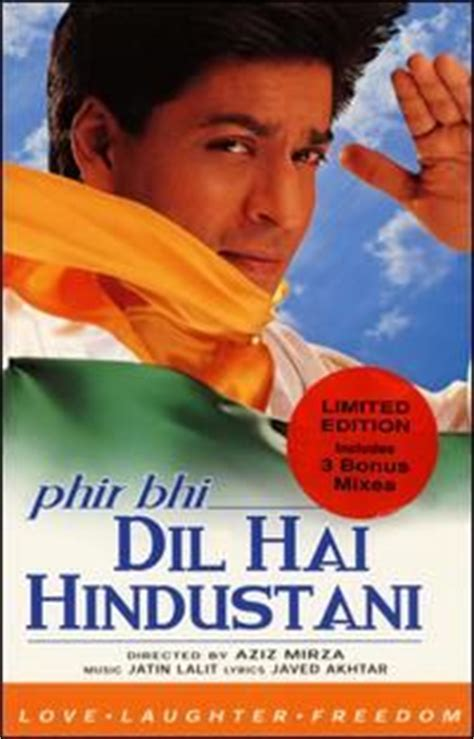 Dvd Fiom India Phir Bhi Dil Hai Hindustani 1000 images about i on