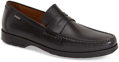 mephisto loafers mephisto howard loafer in black for lyst