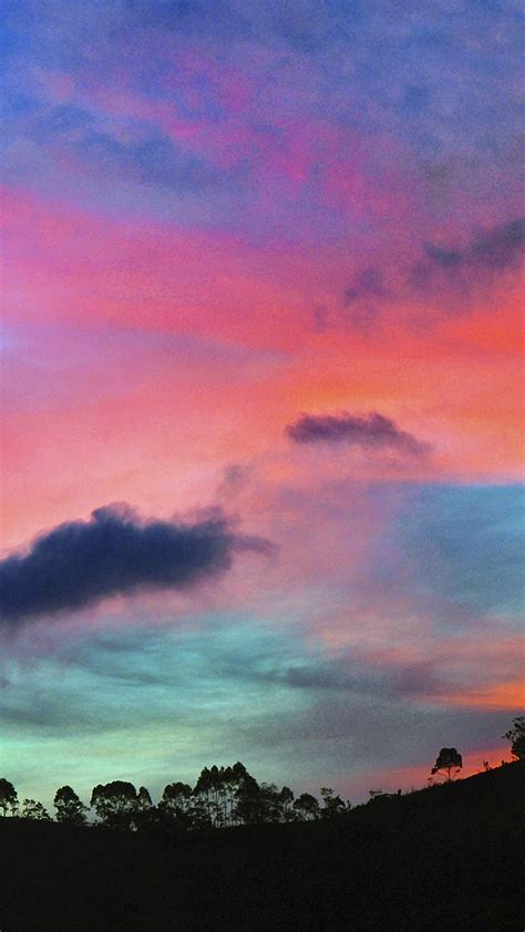 Wallpaper For Iphone 6 Rainbow | sky rainbow cloud sunset nature iphone 6 wallpaper