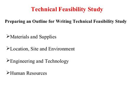 technical feasibility report sle technical feasibility sle report 28 images technical