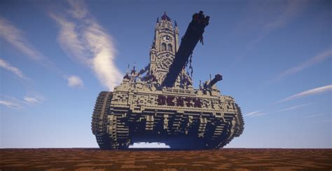 Church Is A Tank by Random Tank With A Church On It Minecraft Project