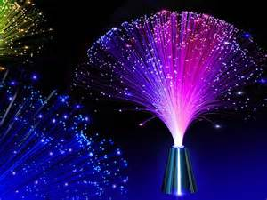 battery led fibre fiber optic spray colour changing l