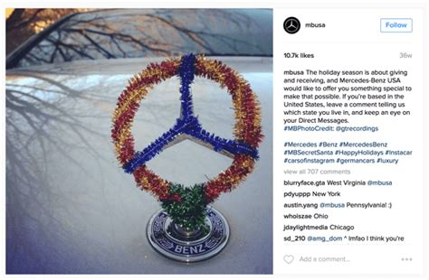 Mercedes Benz Giveaway - 4 creative ways to use instagram for business social media examiner