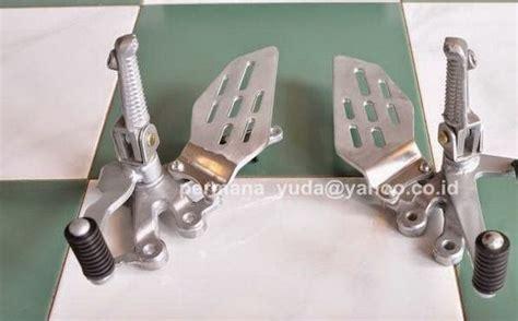 Sirip Footstep Depan Yzf R15 Ori Yamaha modifikasi new vixion pake footrest underbone r15