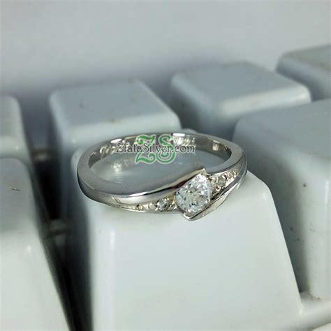 Cincin Wanita Perak Sterling 925 Berlapiskan Emas Putih 79 harga cincin emas 1 gram 2013 software kasir