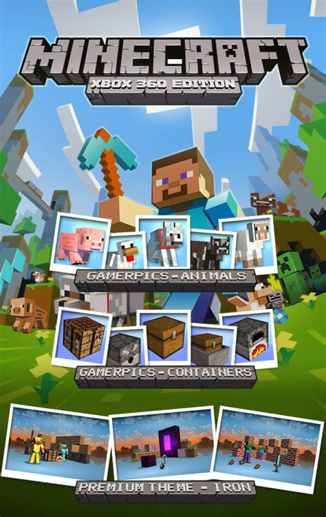 Minecraft Pc Xbox 360 Game 29 7 X 42cm Poster Art Print Amk2259 Ebay - the most played game on xbox 360 is xbox association gamespot