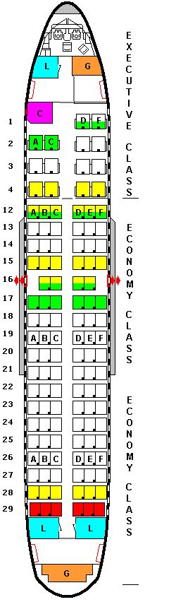 airbus a319 seat map airbus a319 seating chart united