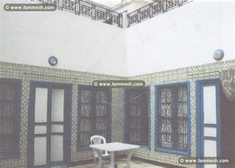 Immobilier Tunisie Vente Immeuble Sidi El Bechir Belle maison arabe traditionnelle 4