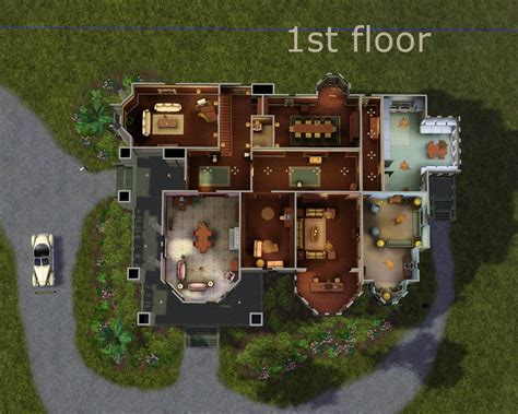 carson mansion floor plan mod the sims carson mansion