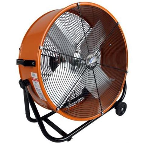 home depot barrel fan maxxair pro 24 in industrial heavy duty 2 speed multi