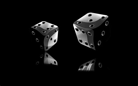 Car Wallpaper Hq 3d And Black by Dice In Black Background 3d Wallpapers And Backgrounds