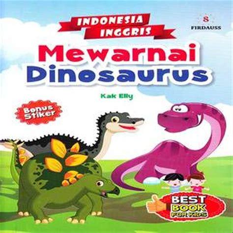 mewarnai dinosaurus gambar mewarnai hd