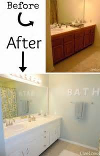 small bathroom makeovers on a budget