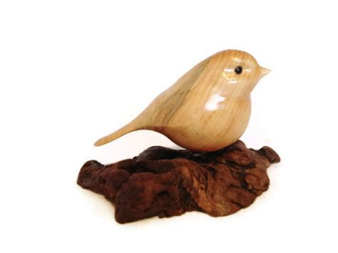 Where To Buy A Birdhouse Carved Bird Chickadee Wood Carving Wood Bird Gift