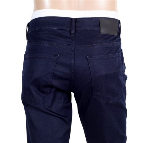 shop for mens slim fit navy from hugo black