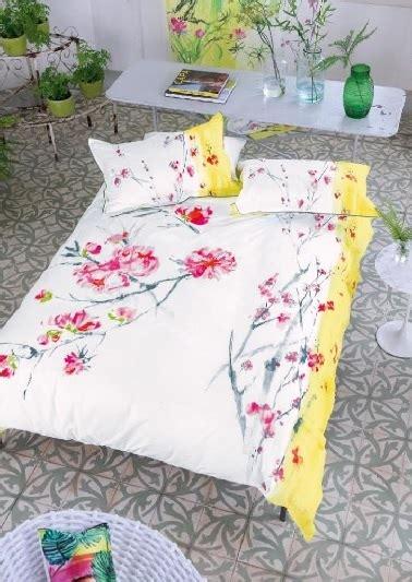 parure de lit fleurs orientales designer guild