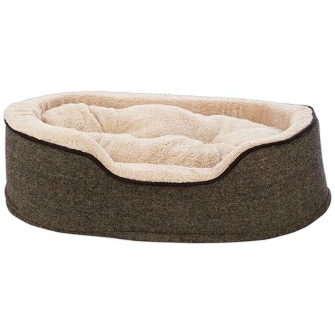 cuddler bed harmony cuddler orthopedic bed in tweed petco