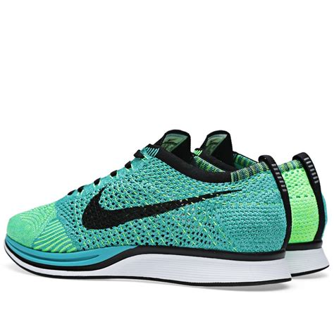 Sepatu Running Nike Flyknit Recer Bnib price 64 nike wmns flyknit racer 526628 300 sport turquoise black womens running shoes for sale