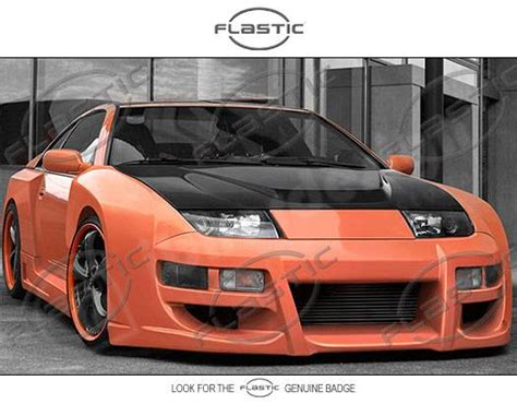 1990 nissan 300zx twin turbo wide body kit nissan 300z flastic poison style fiberglass complete wide