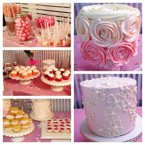Dessert Bar Ideas For Baby Shower by Part Of Dessert Bar Baby Shower Ideas