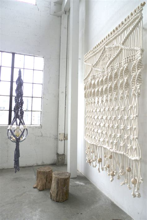Macrame Wall Hanging Images - feel modern macrame