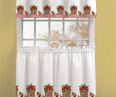 apple kitchen curtains awesome apple kitchen curtains